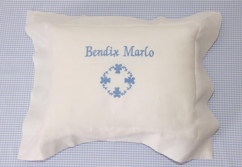 Linen keepsake Pillow